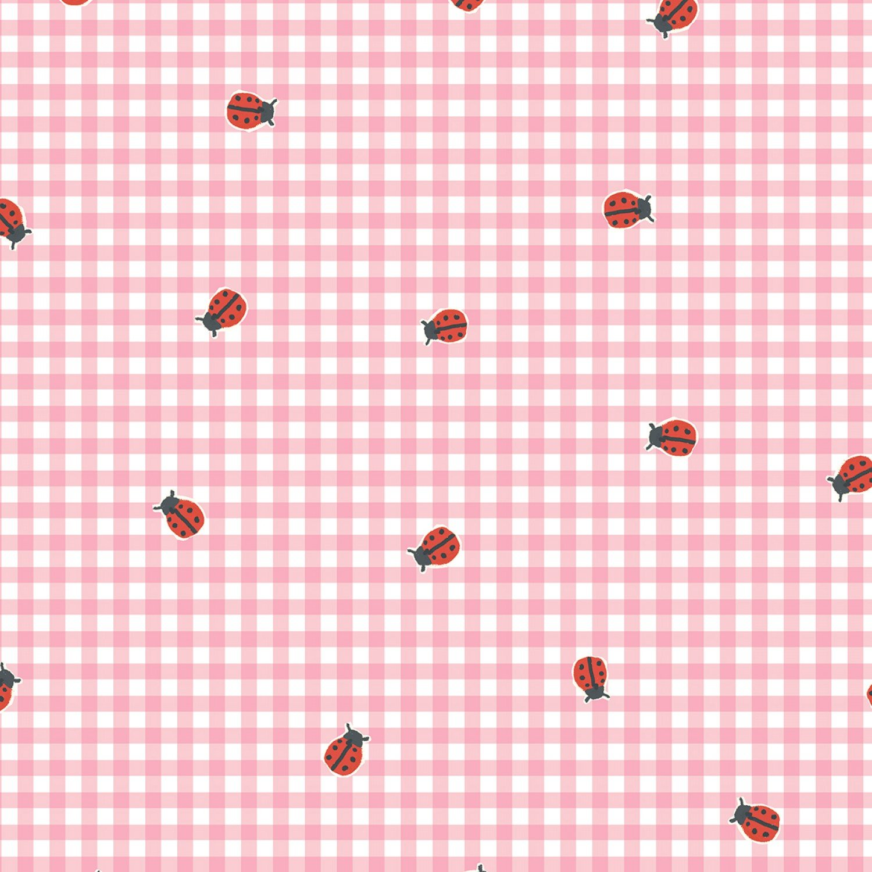 Windham BFF's Organic Cotton Ladybug Pink