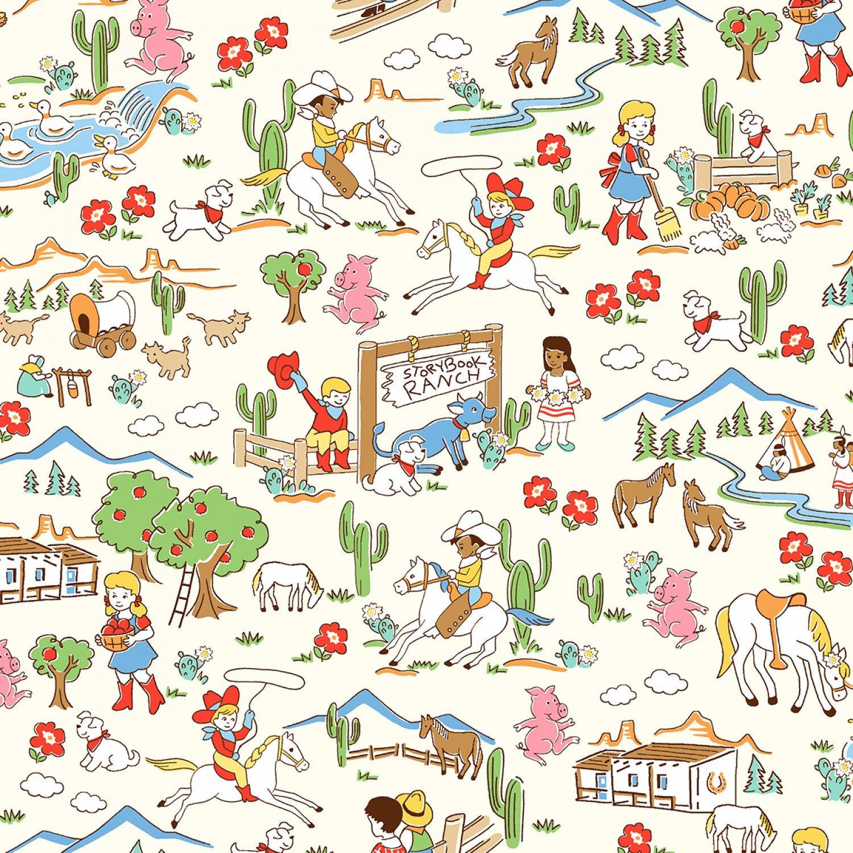 WF-Storybook Ranch 50696-X Multi Storybook Ranch