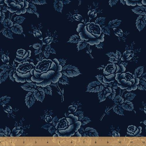 Abigail Blue 50874-3 Navy Large Floral