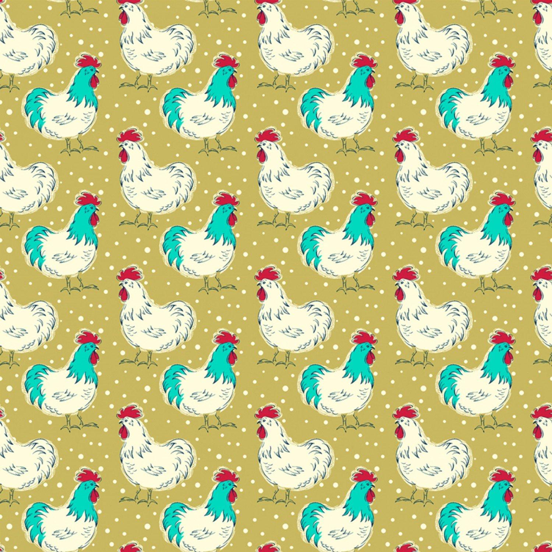 WF-Homestead 51519-2 Happy Day - Chicken Fancy