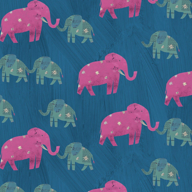 WF-Wish 51740-3 Peacock - Starry Elephants