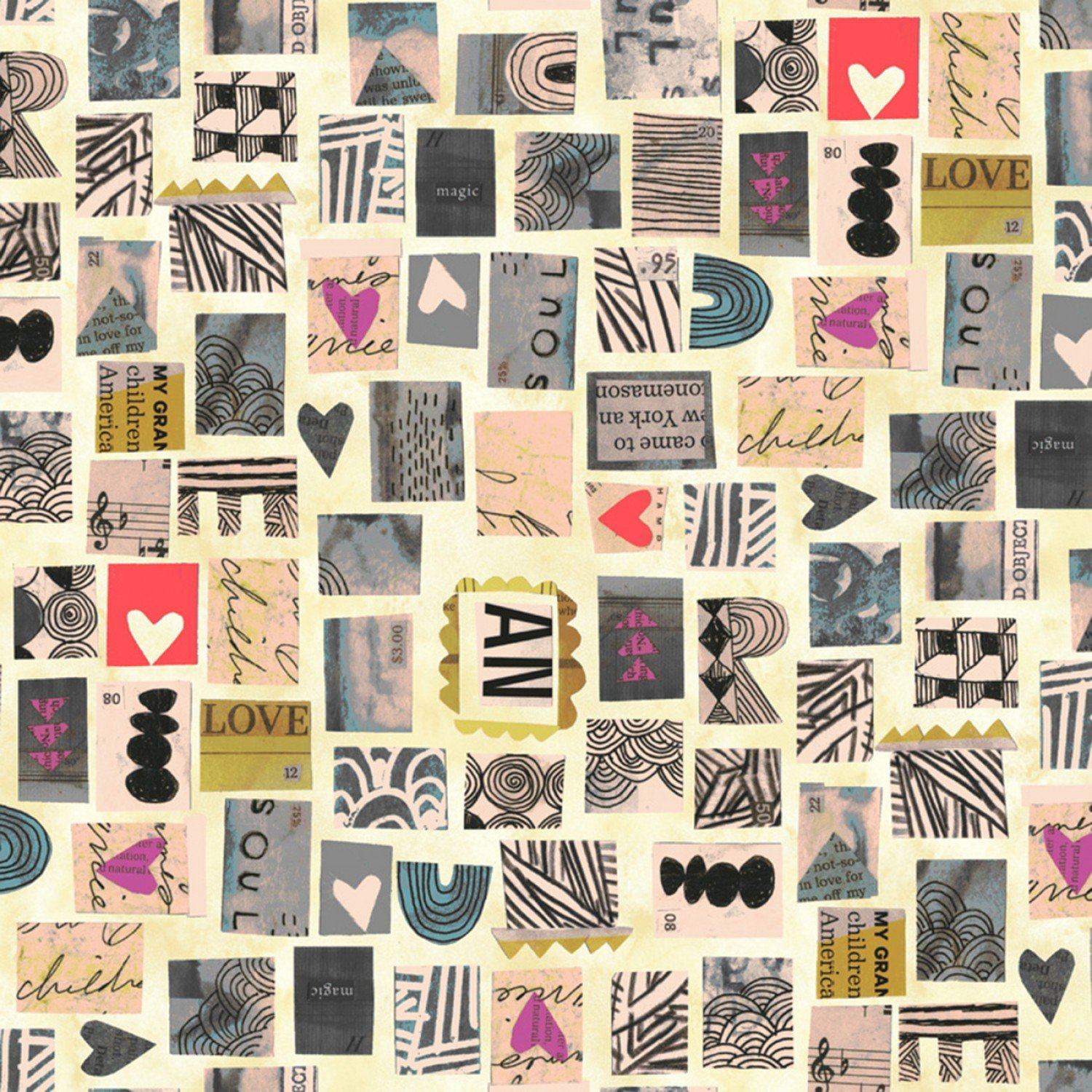 Old Paper Postage Stamps Wish