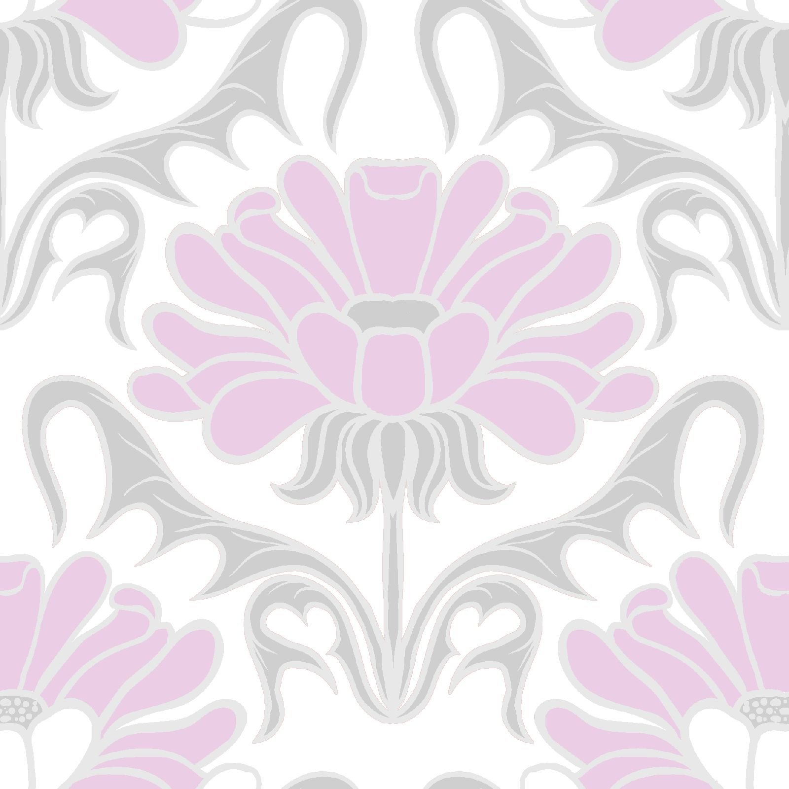 Grace Floral in Pink and Gray for Concord House