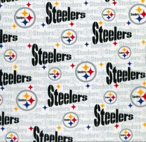 NFL Cotton 6034 W-  Pittsburgh Steelers (20J)