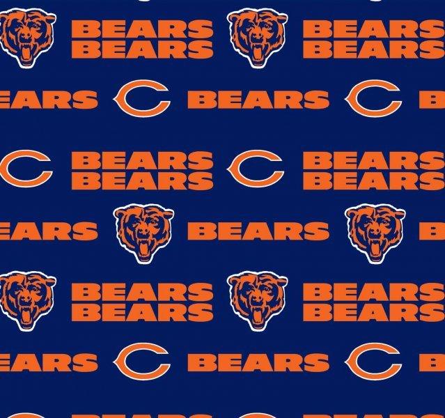 NFL Cotton 6312 D Chicago Bears (20J)