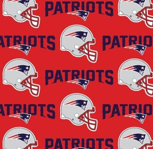 NFL  New England Patriots Red 60in