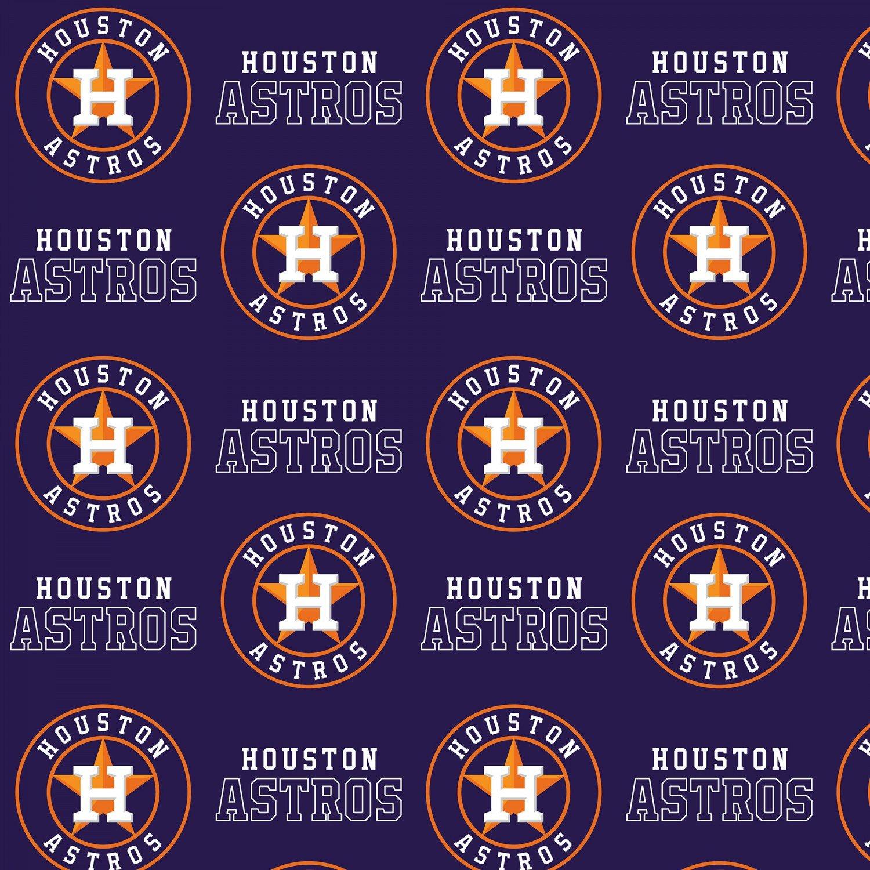 FT-MLB Cotton 6682-B Houston Astros