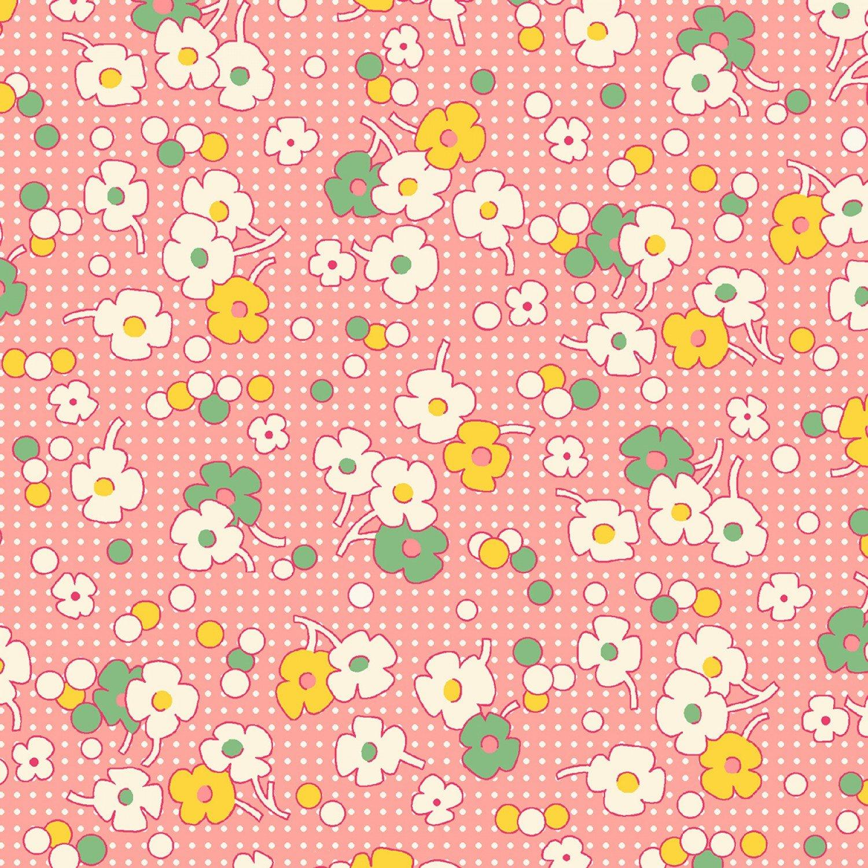 Nana Mae II Pink Dot Bkgrnd
