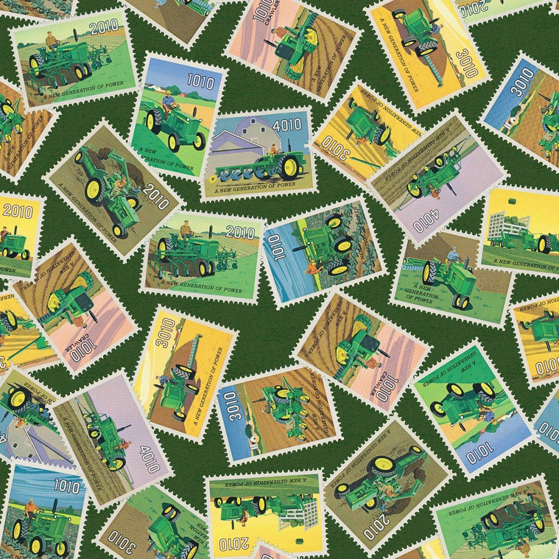 JOHN DEERE STAMPS 124655 GREEN