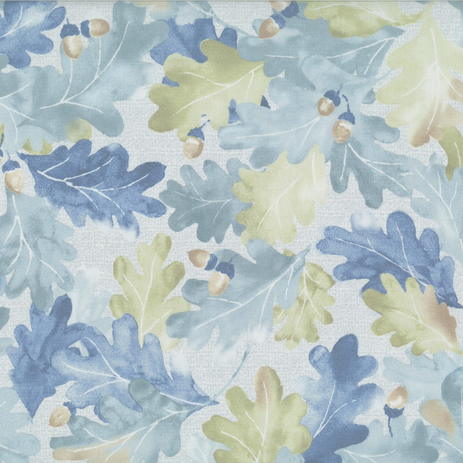 Centenary Collection - Blue Leaves