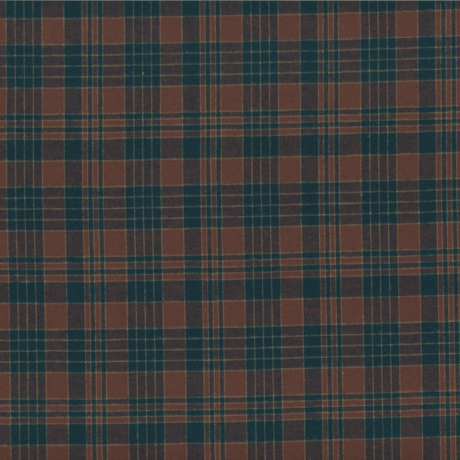Centenary Collection - Brushed Cotton Plaid Navy/Burgandy