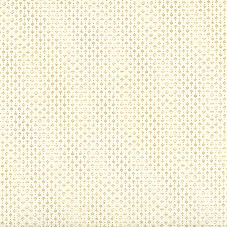 Madame Fleur Fleur de Lis Cream w/Gold Glitter Metallic