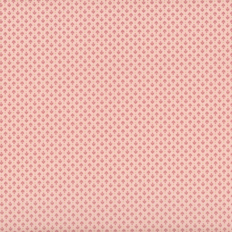 Madame Fleur Fleur de Lis Pink w/Gold Glitter Metallic