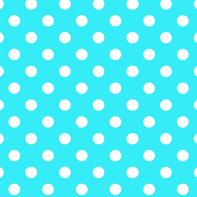 Lecien - Flower Sugar - Symbol of Love - Turquoise Dots