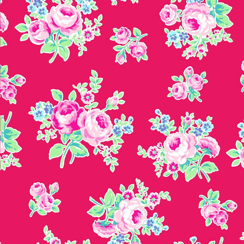 Lecien - Flower Sugar - Symbol of Love - Tulip Tossed Floral