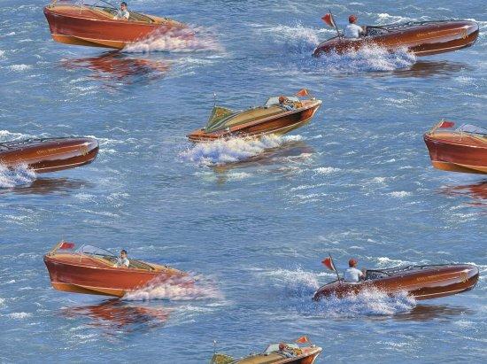 ES-Classic Boats 8903 Scenic Boats - Blue