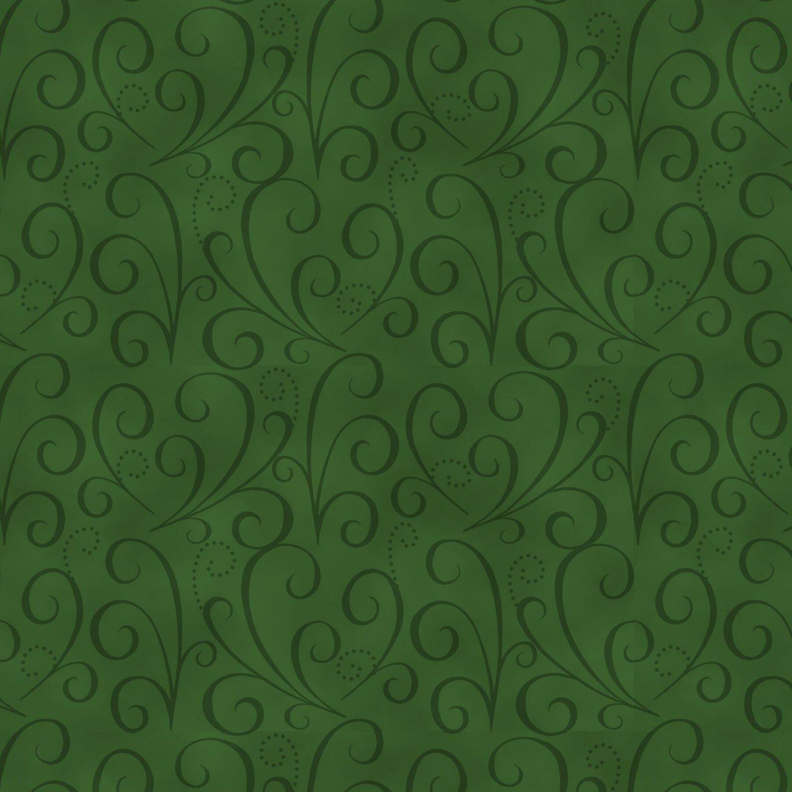 Green  Tonal Swirl