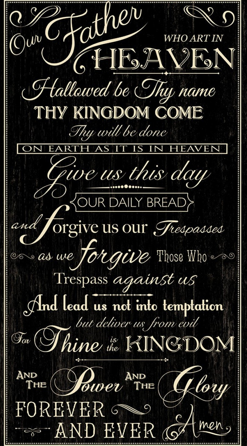 Lord?s Prayer Panel