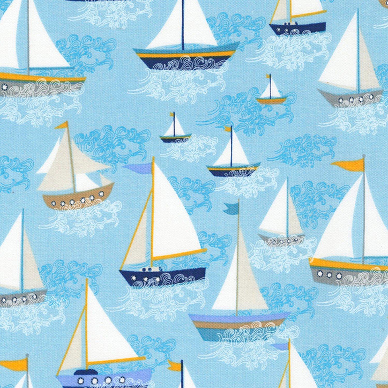 A Day at Sea - Sailboats - C6698