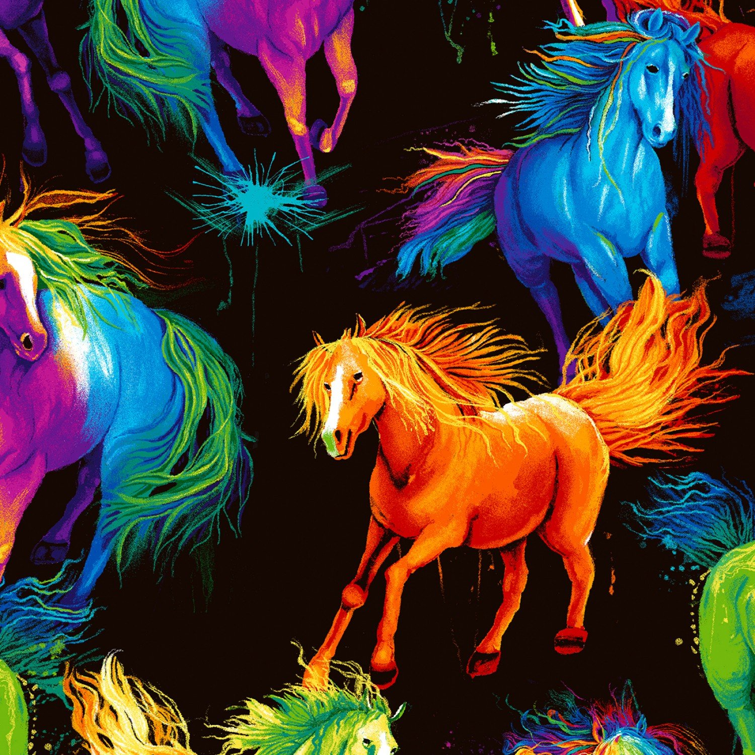 All Over Painted Horses CD6597
