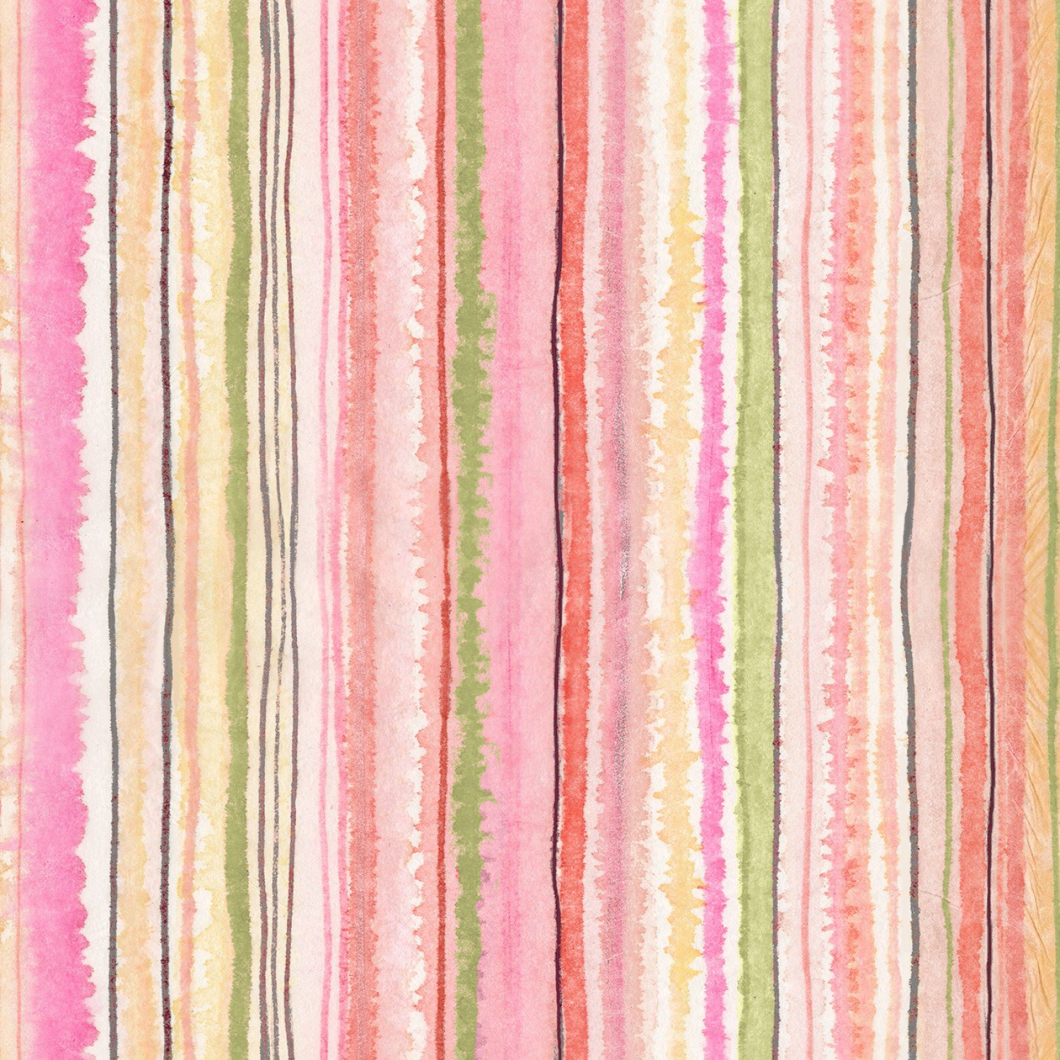 TT-Fleur CD7191 Multi - Digitally Printed Stripe