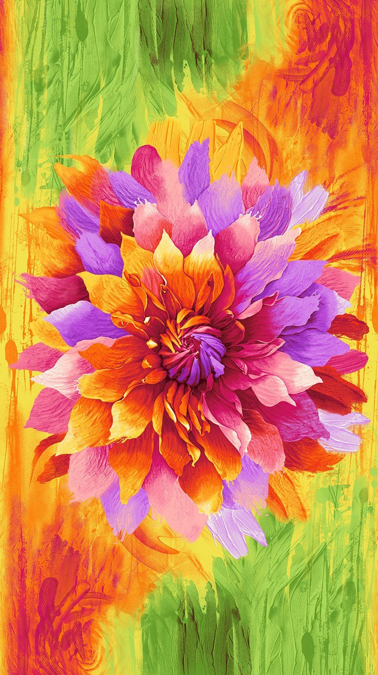 Dream C6257 24 Flower Panel - Bright