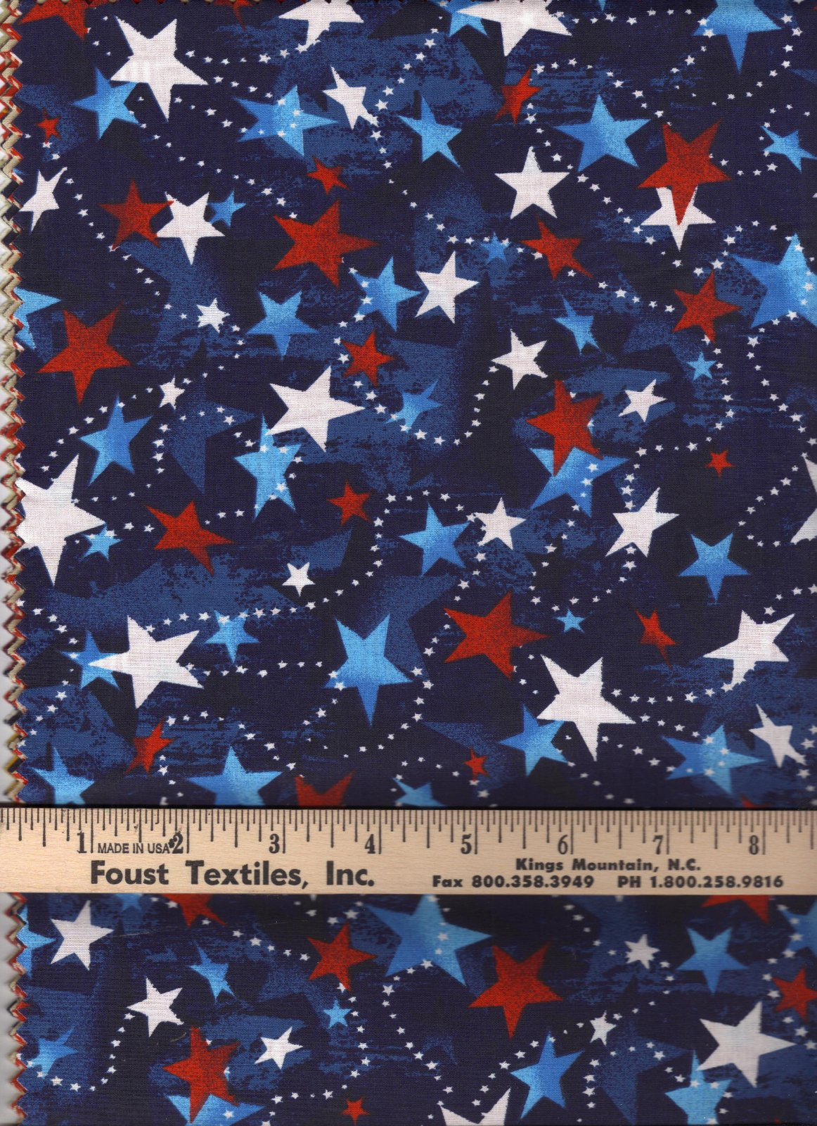 Made in the USA 48476 Navy/Stars