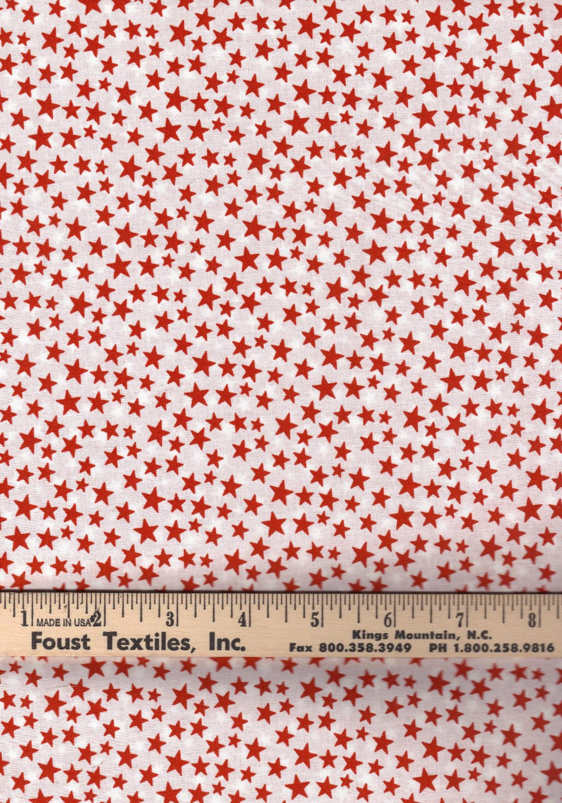 Made in the USA 48489 Red/White