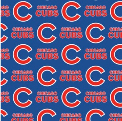 MLB Chicago Cubs 6635-B Cotton 58-60 Wide