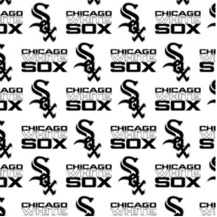 MLB Chicago White Sox 6636-B Cotton 58 - 60 Wide