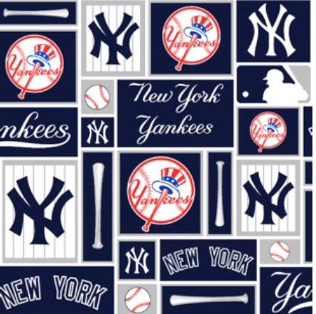 NY Yankees Patchwork