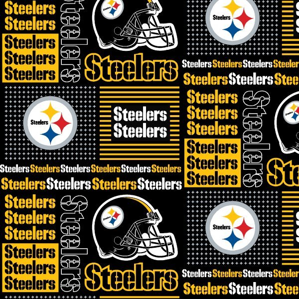 NFL Cotton 6430 D Pitts Steelers