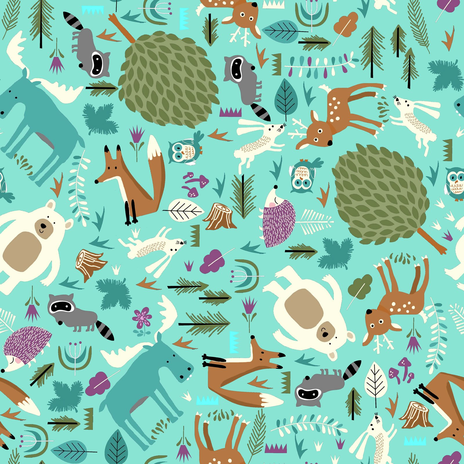 Fun Flannel Forest Friends