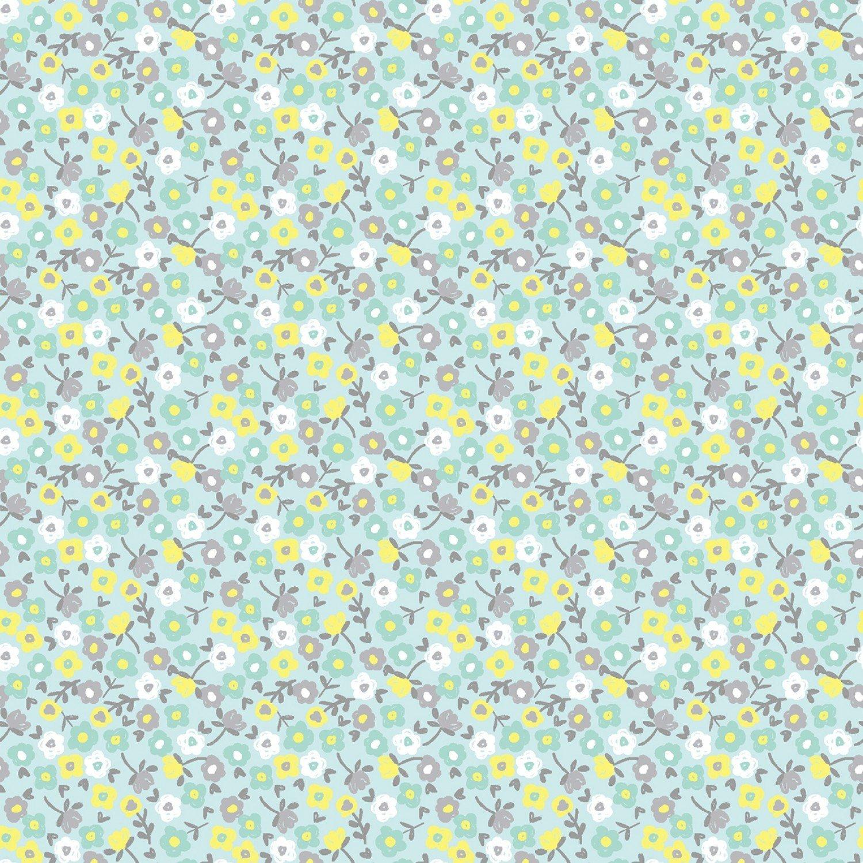 Wide Awake Flannel F1154 Floral Dream