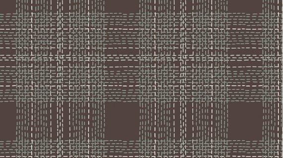DS-Dash Plaid in Flannel FRR769 Gargoyle