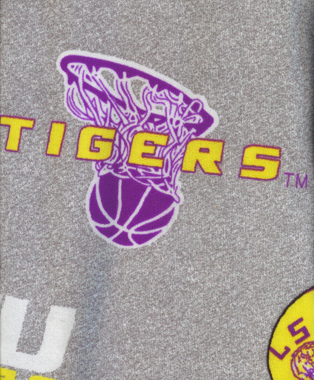 Louisiana State University Sweatshirt Fleece Fleece