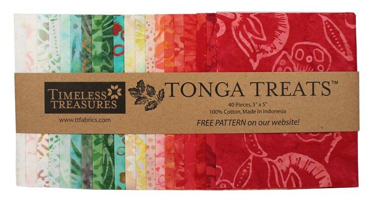 Tonga Treats - Mini Poppy 5in squares