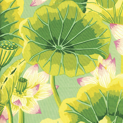 Lake Blossoms - Green