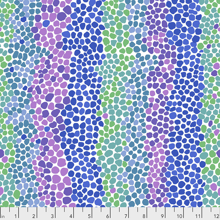 Pebble Mosaic - Ice by Brandon Mably for the Kaffe Fassett Collective PWBM042.ICE