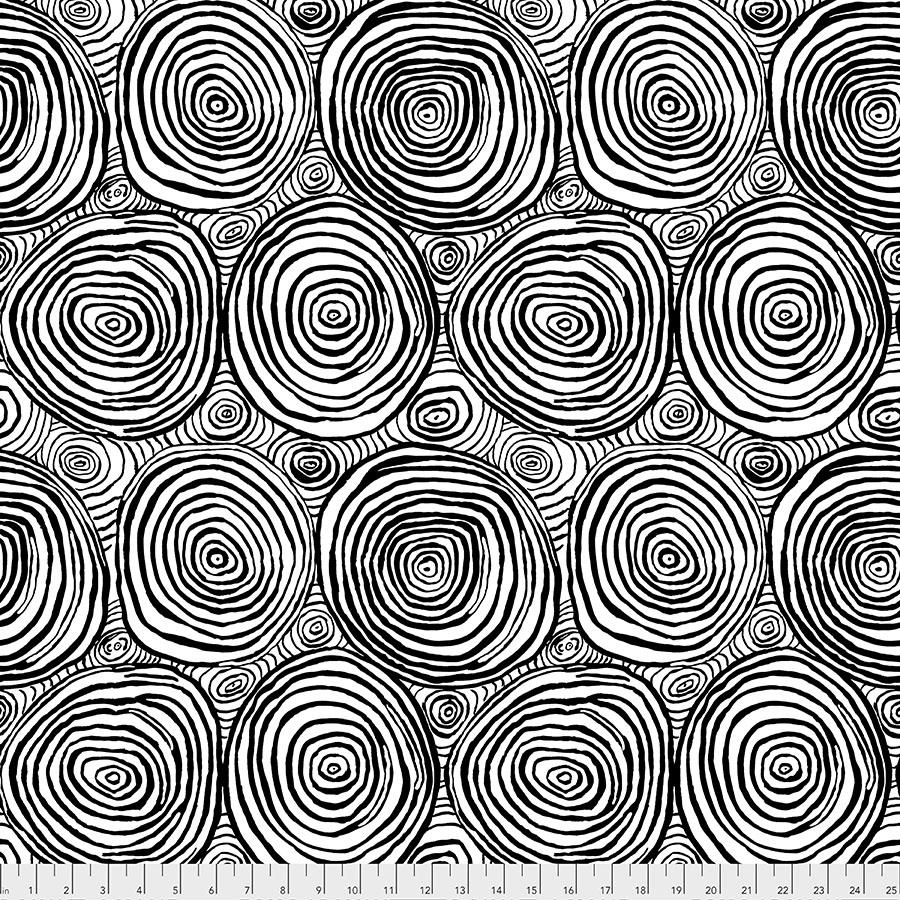 Kaffe Fassett Collective Onion Rings Black