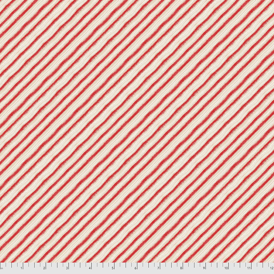 Holly Jolly - Peppermint Stripes - Red