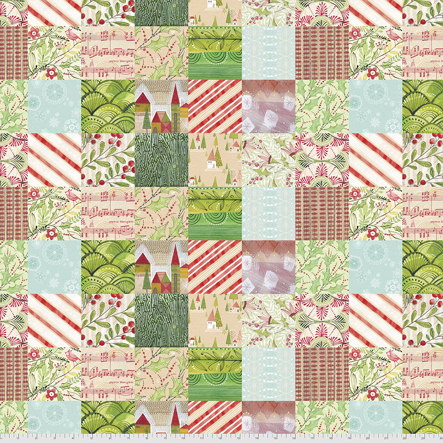Holly Jolly Patches PWCD010.XMULTI