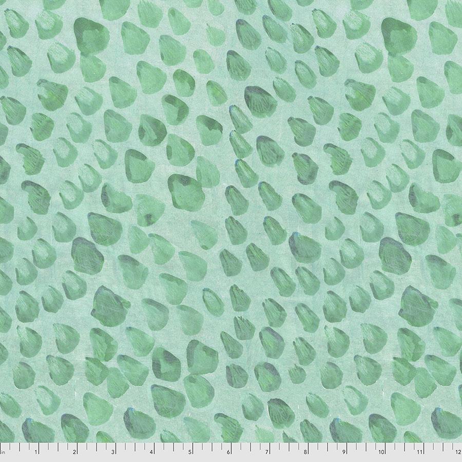 Stillness In Nature - Dew Drops - Aqua Denise Burkitt