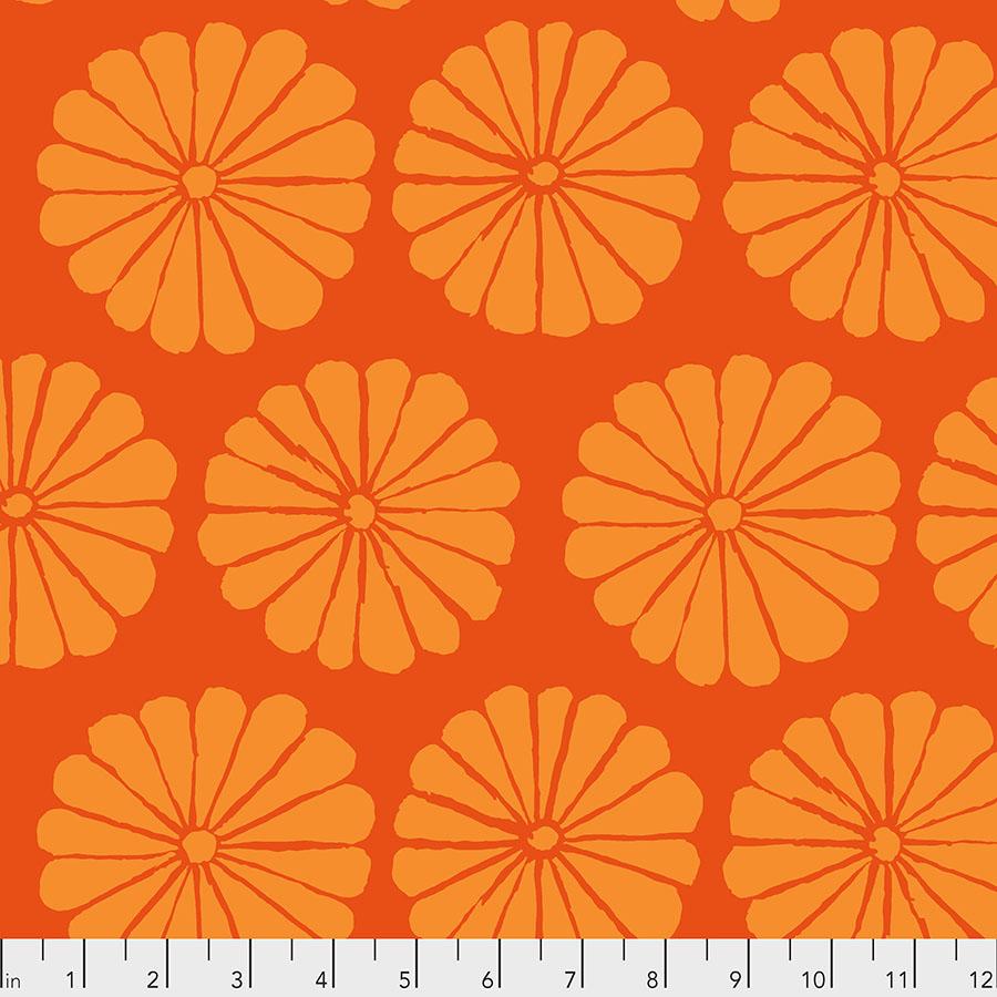 Damask Flower - Orange