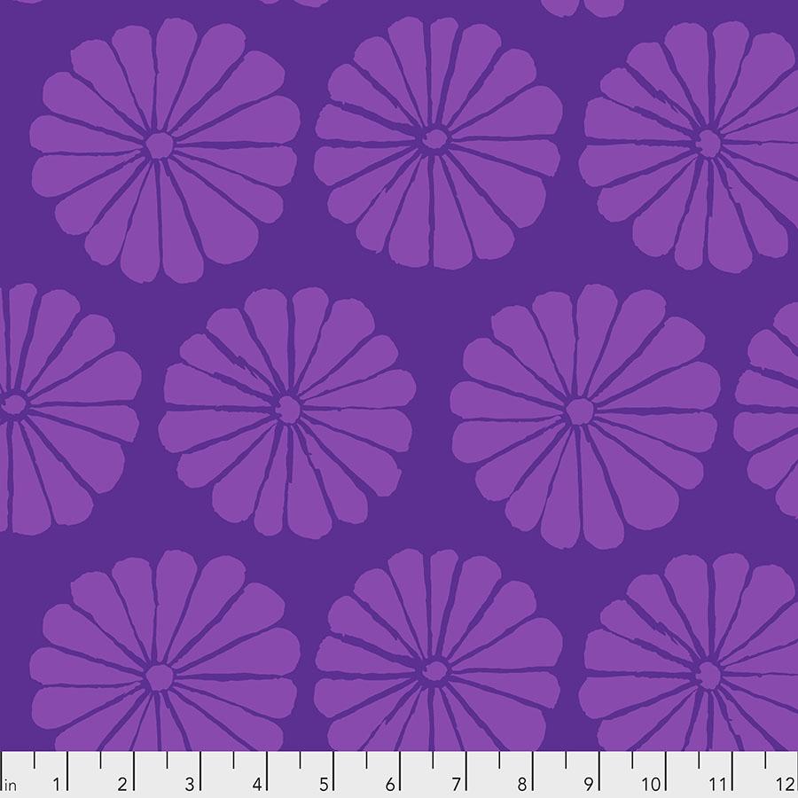 Damask Flower - Purple