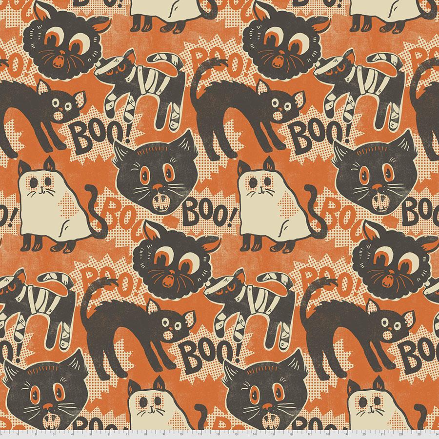 Scaredy Cat - Orange