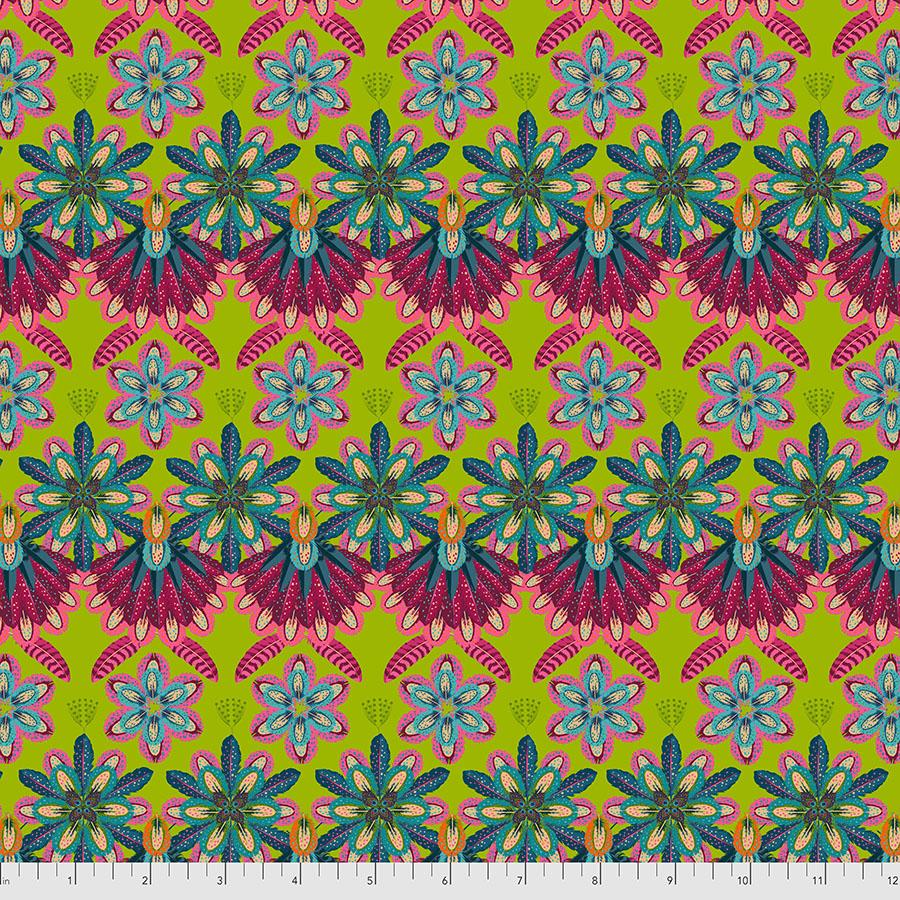 Mini Plumettes - Green MagiCountry by Odile Bailloeul