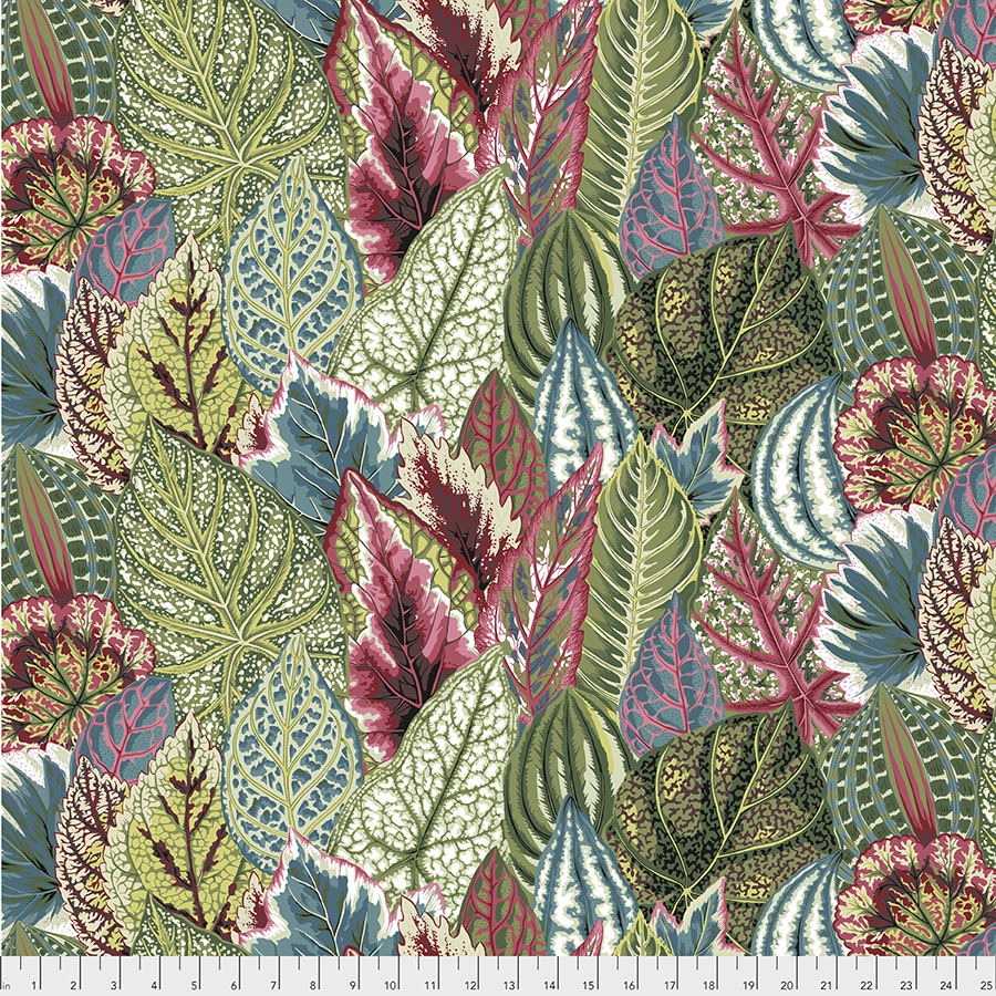 Kaffe Feb 2020 Collection coleus in green