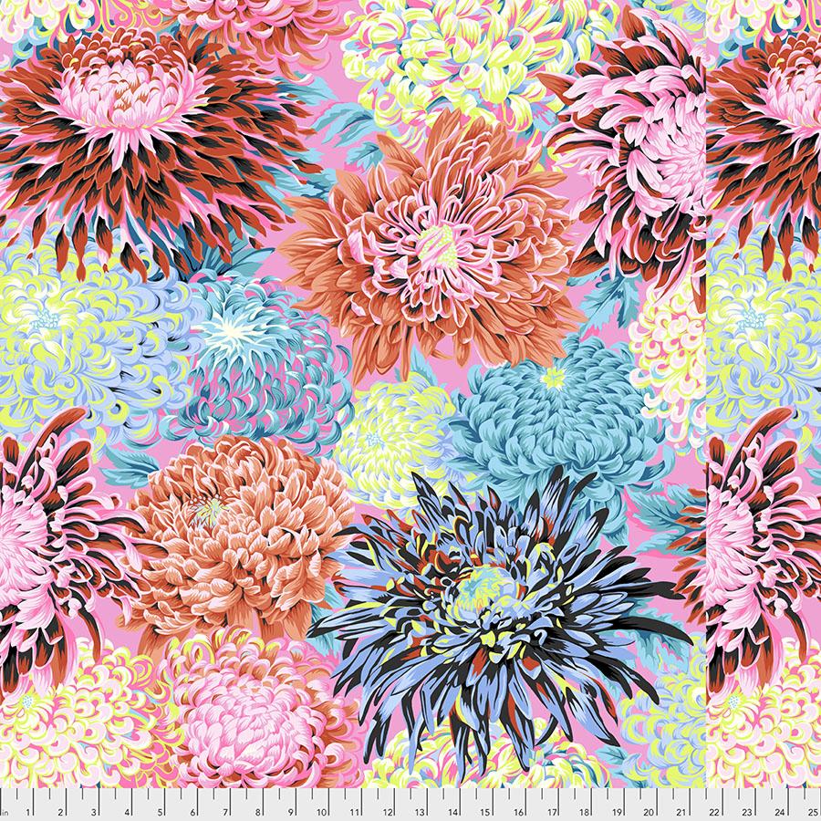 Kaffe -Japanese Chrysanthemum - Contrast