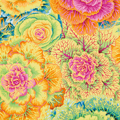 Kaffe Fassett Collective By Philip Jacobs - Brassic PWPJ051.Yello